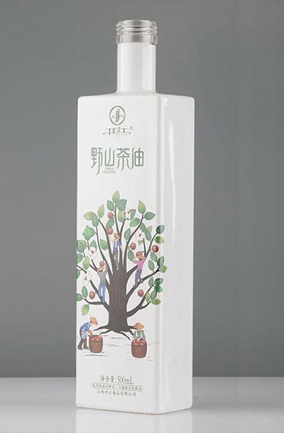 新款茶油瓶- 012