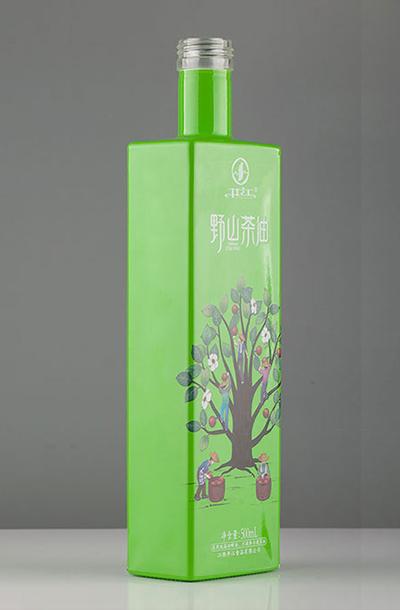 新款茶油瓶- 013